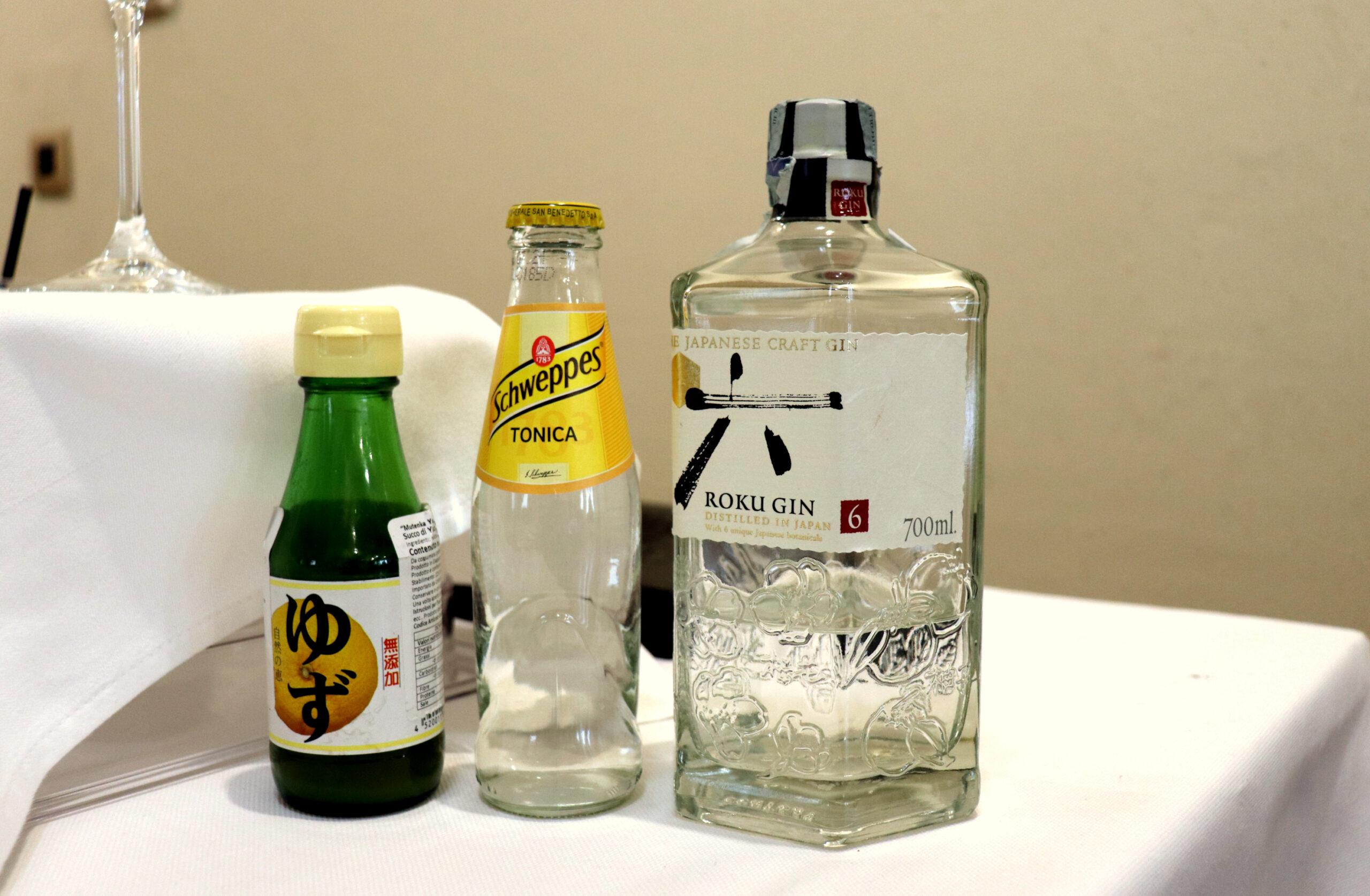 Ingredienti per il Gin Tonic